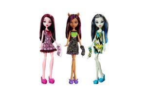 Новинки Куклы Monster High