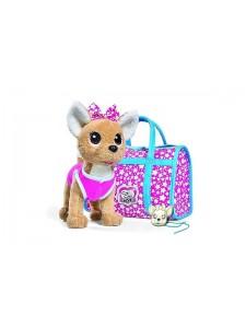 Мягкая игрушка Simba Chi Chi Love Собачка Звёздный стиль с сумочкой 10 5893115