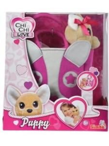 Мягкая игрушка Simba Chi Chi Love Собачка с сумочкой в виде собачьей мордочки 10 5893121