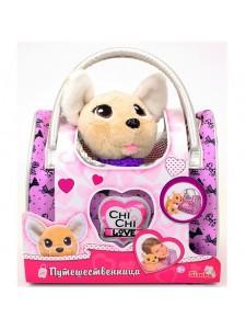 Мягкая игрушка Simba Chi Chi Love Собачка путешественница с сумочкой 10 5893124