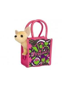 Мягкая игрушка Simba Chi Сhi Love Собачка в сумочке с фломастерами 10 5895264