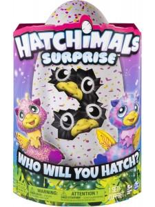 Hatchimals Близнецы Жирафики Хетчималс 19110 Pink