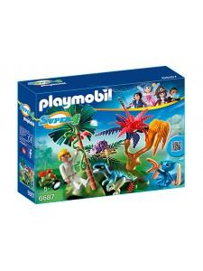 Playmobil Затерянный остров с Алиен и Хищником 6687