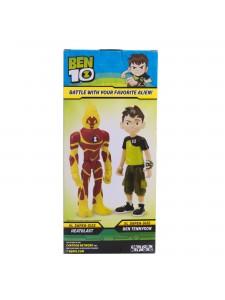 Ben 10 фигурка Человек-огонь XL 76702