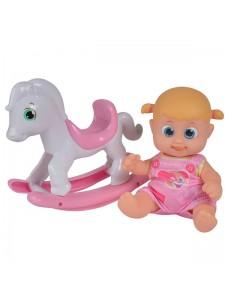 Bouncin Babies Кукла Бони с лошадкой 803003