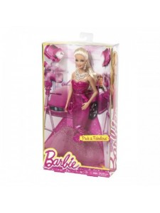 Кукла Barbie В вечернем платье BFW19