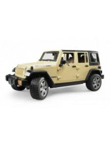 Bruder Джип внедорожник Jeep Wrangler Unlimited Rubicon Брудер 02525