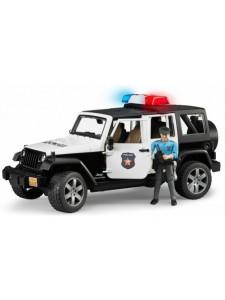 Внедорожник Bruder Jeep Wrangler Полиция с фигуркой 02526 Брудер