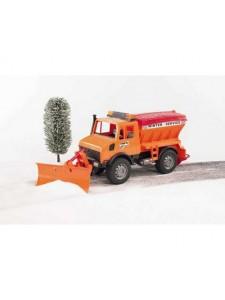 Bruder Снегоуборочная машинка Mercedes Брудер 02572