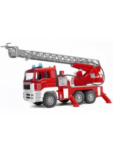 Bruder Пожарная машина MAN с лестницей Брудер 02771