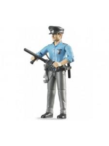 Bruder Фигурка полицейского с акс Брудер 60050