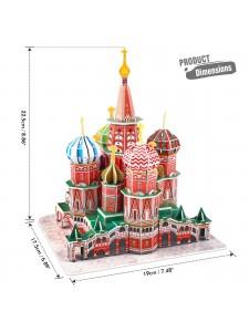 3D Пазл Собор Василия Блаженного C239H
