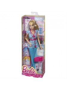 Кукла Barbie Кем быть Доктор Барби CFR03/BDT23