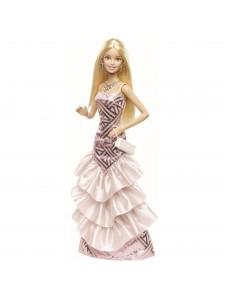 Кукла Barbie в вечернем розовом платье CHH06