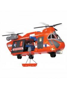 Вертолёт Спасательный с машинкой Dickie Toys 3309000