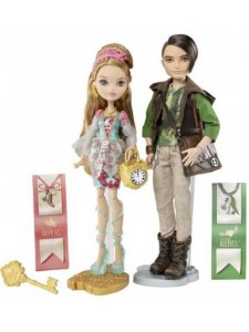 Ever After High Куклы Эшлин Элла и Хантер Хантсмен CBX79