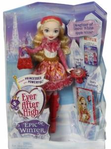 Ever After High Кукла Эппл Уайт-Заколдованная зима DPG88