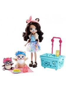 Набор Enchantimals Пикник на природе с куклой Брен FCC64