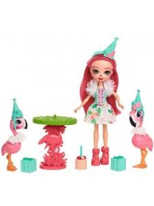Набор Enchantimals Праздник фламинго с куклой Фенси FCG79