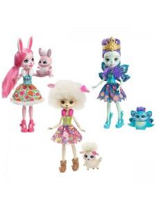 Набор Enchantimals из трёх кукол со зверюшками FMG18
