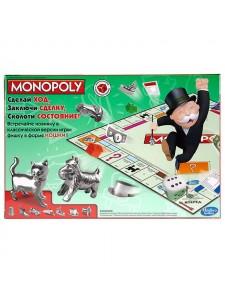 Hasbro Настольная игра Монополия Классическая Monopoly 00009