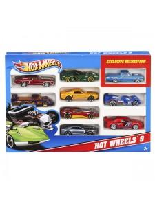 Хот Вилс Подарочный набор из 10 машинок Hot Wheels 54886