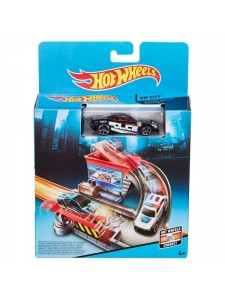 Хот Вилс Трек Полицейская погоня Hot Wheels CDM45