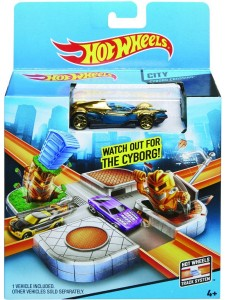 Хот Вилс Остерегайся киборгов Hot Wheels CDM46