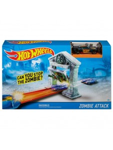 Хот Вилс Трек Атака Зомби Hot Wheels DJF03