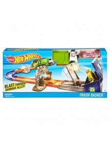 Хот Вилс Трек Удар мусоровоза Hot Wheels DJF05
