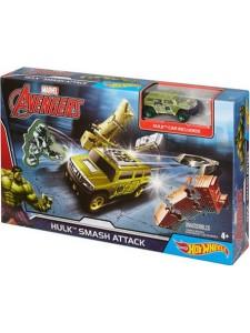 Хот Вилс Трек Marvel Халк Hot Wheels DKT29