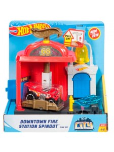 Хот Вилс Пожарная станция Hot Wheels FRH29