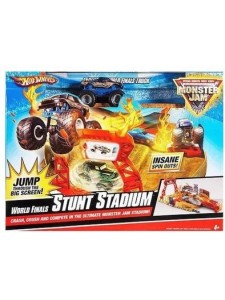 Хот Вилс Набор Monster Jam World Finals Action Set Hot Wheels R1797