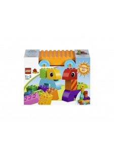 LEGO Duplo Весёлая каталка с кубиками 10554