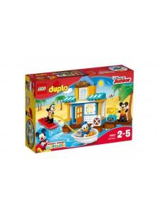 LEGO Duplo Микки и его друзья: домик на пляже 10827