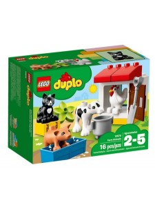 LEGO Duplo Ферма: домашние животные 10870