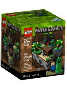 Лего 21102 Микро Мир Лес Lego Minecraft