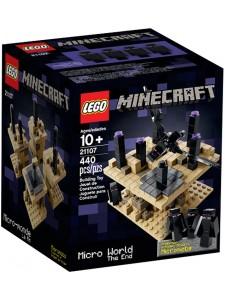Лего 21107 Микро Мир Конец Lego Minecraft