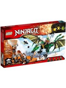 Лего 70593 Зелёный Дракон Lego Ninjago