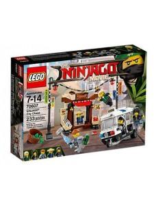 Лего 70607 Ограбление киоска в Ниндзяго Сити Lego Ninjago