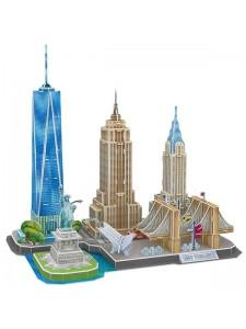 3D Пазл Достопримечательности Нью-Йорка MC255H