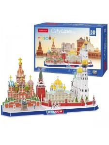 3D Пазл Достопримечательности Москвы MC266H