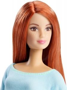 Mattel Кукла Барби Рыжеволосая Безграничные движения Barbie Made To Move DPP74