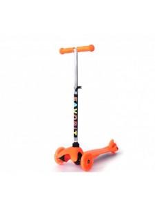 Детский самокат Favorit Mini S00022 (оранжевый)