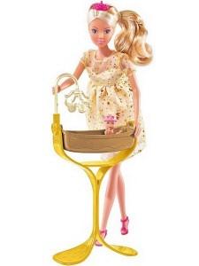 Simba Кукла Штеффи беременная Королевский набор 105737084