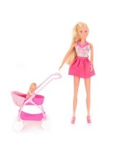 Кукла Штеффи с ребёнком Simba