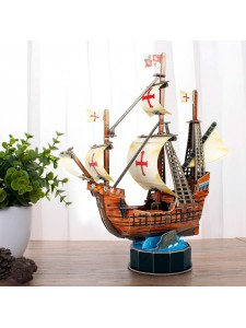 3D Пазл Корабль Санта Мария T4031H