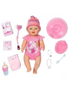 Zapf Creation Беби Борн Очаровательная Малышка интерактивная Baby Born 822005