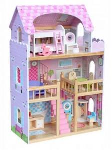 Деревянный кукольный домик Nadia Wooden Toys