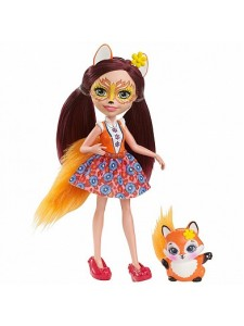 Кукла Enchantimals Фелисити Лис с питомцем DVH89